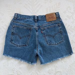 Vintage Levi's 517 Cutoff Shorts